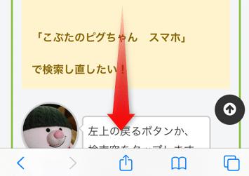 【iPhone・Safari】見ているページから特定の言葉を見つけ出す方法。