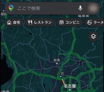 【iPhone(iPad)】Googleマップのダークモードを解除する。(iOS14)